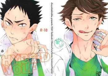 (SUPER22) [CHOCOLATE HOKKE (HOKKE)] HYBRID WOLF (Haikyuu!!) [Chinese] [阿徹的牛奶棒漢化組] cover