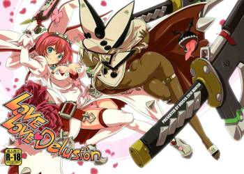 (C87) [Uguisuya (Uguisu Kagura)] LOVE LOVE Delusion (GUILTY GEAR) cover