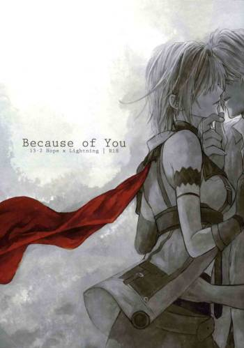 [CassiS (RIOKO)] Because of You (Final Fantasy XIII-2) [English] {Crystalium + EHCove} cover