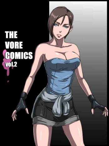 [BHM MONSTER LAB] THE VORE COMICS vol. 2 (Resident Evil) cover
