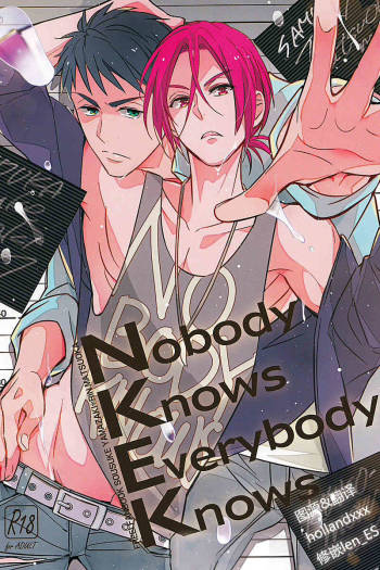 (Renai Jaws 3) [Kuromorry (Morry)] Nobody Knows Everybody Knows (Free!) [Chinese] cover