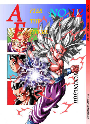 [Young JiJii] Dragon Ball AF Volume 12 cover