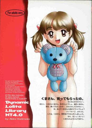 [Studio309] Dynamic Lolita Library NT4.0 cover