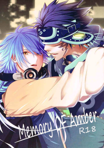 (C82) [smat. (Akatsuki Tomato)] Memory OF Amber (DRAMAtical Murder) [English] [Baka Dumb Aho Scans] cover