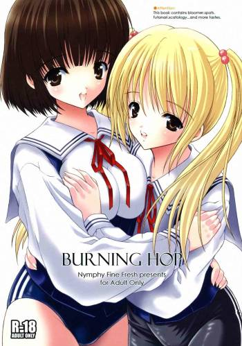 (Mimiket 19) [Nymphy Fine Fresh (ILLI)] BURNING HOP cover