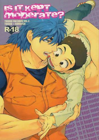 (C77) [ever (Jirou)] Is it kept moderate? (Toriko) cover