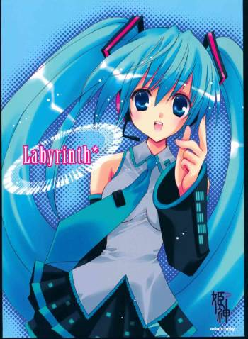 (THE VOC@LOiD M@STER 4) [Himegami (Nanase Aoi)] Labyrinth* (VOCALOID) cover