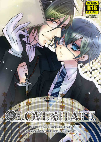 (SUPER21) [Kuromame Pack (Kuromame)] LOVE&HATE (Black Butler) cover