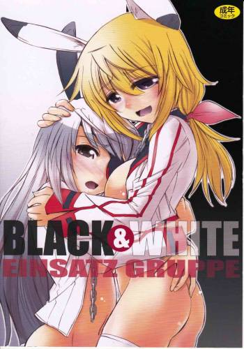 (C81) [EINSATZ GRUPPE {Charlie Nishinaka)] Black & White (IS <Infinite Stratos>) [English] [Tigoris Translates] cover