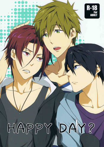[Gyoukou (Yaki Rio)] HAPPY DAY? (Free!) [English] [Moy Moe Scans] cover