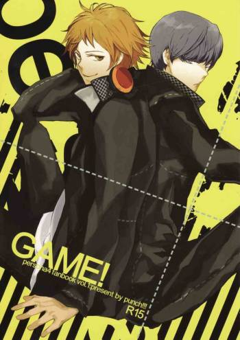 [punch!!! (Enomoto Curo)] GAME! (Persona 4) cover