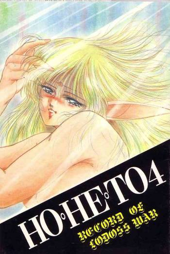 (Studio Boxer) HOHETO4 (Record of Lodoss War) cover