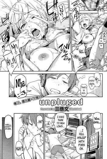 [Minato Fumi] unpluged (COMIC HOTMiLK 2011-04) [English] [Flatopia] cover