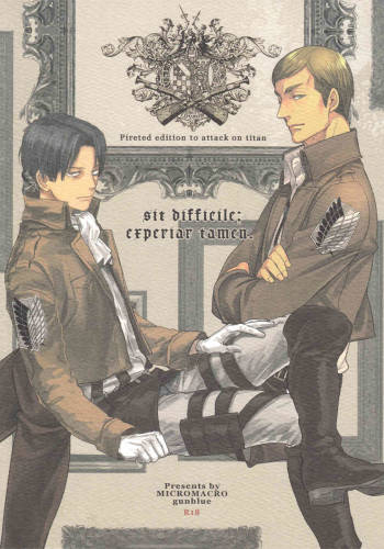 [MICROMACRO and gunblue] sit difficile; experior tamen. (Shingeki no Kyojin) cover