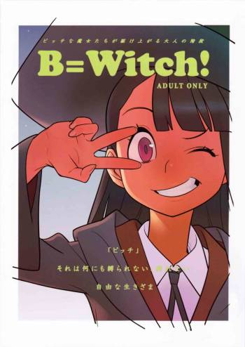 (C84) [Hamanasu Chaya (Hamanasu)] B=Witch! (Little Witch Academia) [English] [Risette] cover