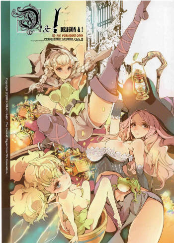 (C84) [70 Nenshiki Yuukyuu Kikan (Endou Okito) D&! | DRAGON & ! (Dragon's Crown) [English] [Tigoris Translates] cover