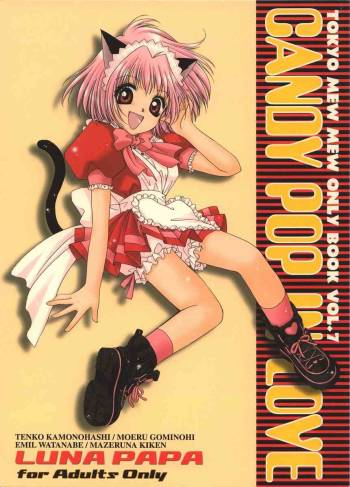 (C62) [LUNA PAPA (various)] CANDY POP IN LOVE (Tokyo Mew Mew) cover