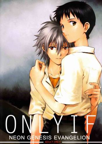(C82) [cassino (Magarikoji Lily)] ONLY IF (Neon Genesis Evangelion) [English] {acme} cover