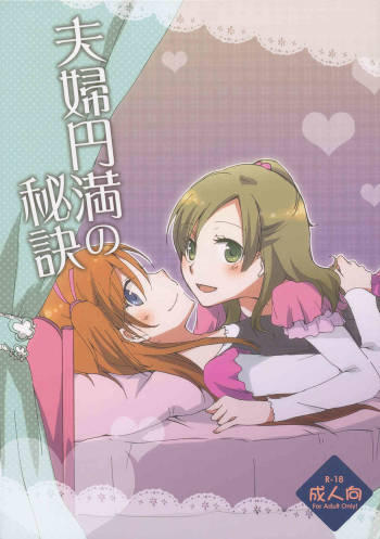 (C81) [Niratama (Sekihara Kaina)] The Secret to a Happy Marriage (Suite Precure) [English] [Yuri-ism] cover