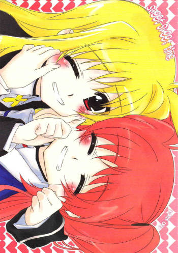 [Kurikoro. (Tokoharu)] sweet sweet time (Magical Girl Lyrical Nanoha) [English] (NanoFate) cover