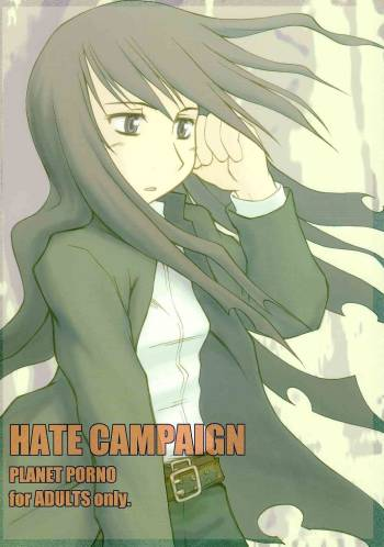 (CR34) [PLANET PORNO (Yamane)] HATE CAMPAIGN (Kino no Tabi) cover