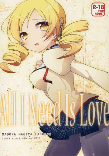 [clear glass (Menimo)] All I Need Is Love (Puella Magi Madoka☆Magica) [Digital] [ENG] =LWB= cover