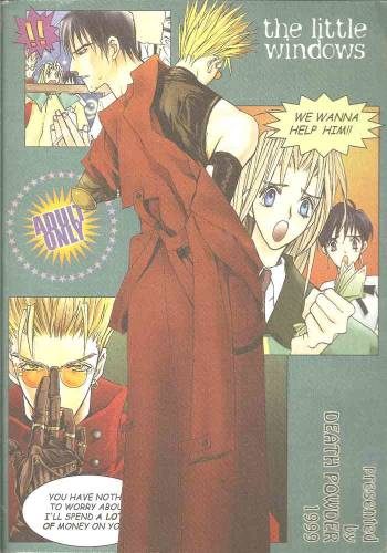 [DEATH POWDER] the little windows (Trigun) cover