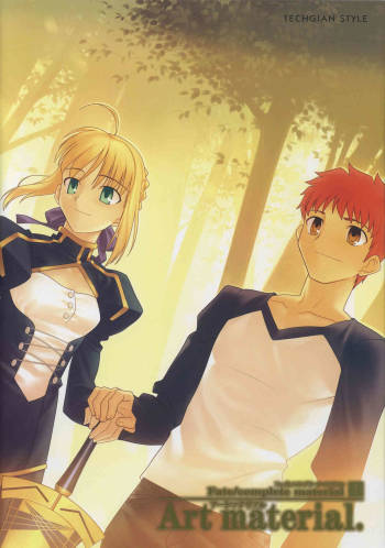[Type-Moon] Fate/complete material I - Art material. cover