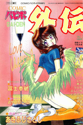 COMIC Papipo Gaiden 1996-04 Vol.21 cover