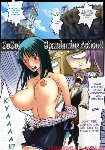 [Konsoul] [One Piece] GO GO SPANDAMING ACTION [Full color] [eng] [High-res] cover