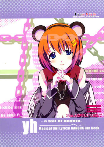[IzumuNizm (Noshi)] yh - a tail of hayate. (Magicial Girl Lyrical Nanoha Strikers) cover