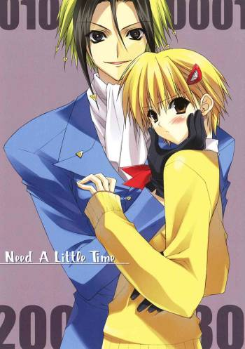 (CT9) [HEART WORK (Suzuhira Hiro)] Need A Little Time (Majin Tantei Nougami Neuro) cover