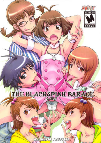 (C78) [Majimadou (Matou)] THE BLACK & PINK PARADE A-SIDE (THE IDOLM@STER) cover