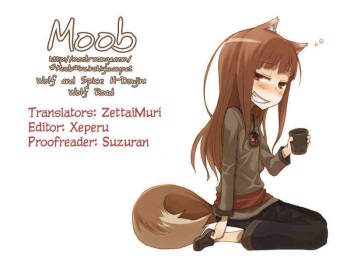 (SC38) [Raijinkai (Harukigenia)] Wolf Road (Ookami to Koushinryou [Spice and Wolf]) [English] [Moob] cover