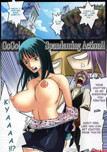 [KonKIT] Go Go! Spandaming Action!![FULL COLOUR] (One Piece) (English) cover
