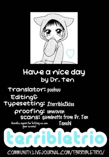 Have a Nice Day by Dr. Ten cover