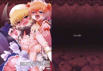 (C76) [IncluDe] BRIGHTNESS DARKNESS ANOTHER (Touhou) cover