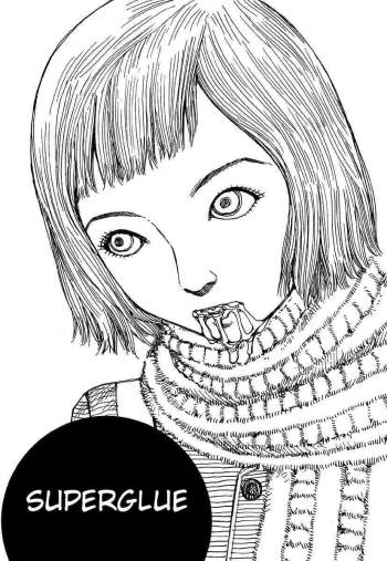 Shintaro Kago - Superglue [ENG] cover