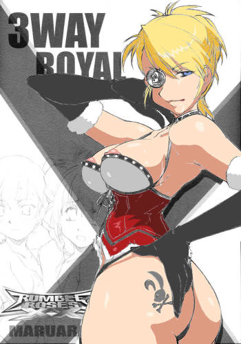 [Maruarai] 3-Way Royal (Rumble Roses) (English) {Doujin-Moe.us} cover
