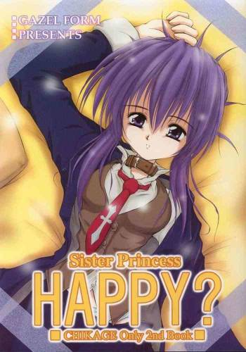 (C61) [GAZEL FORM (Mafuyu no Suika)] HAPPY? (Sister Princess) cover