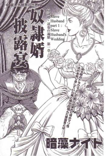 [Steevejo][Annmo Night]The Slave Husband 1: Slave Husband's wedding [ENG] cover