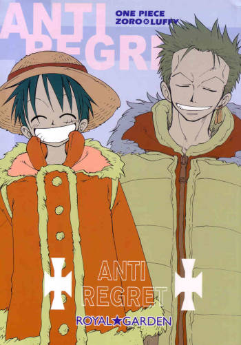 ANTI REGRET (One Piece) [Zoro X Luffy] YAOI -ENG- cover