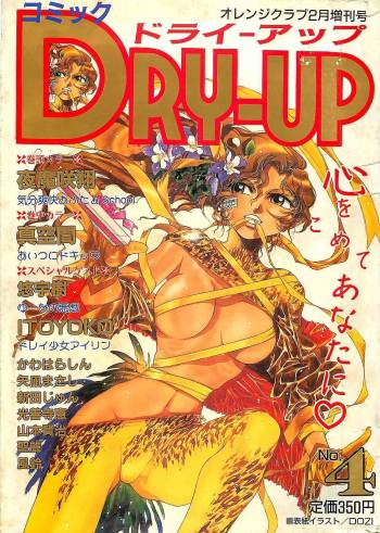 COMIC DRY-UP No.4 1995-02 cover