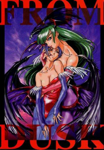 (C52) [TEX-MEX, TRIAD (Various)] FROM DUSK (Darkstalkers) cover
