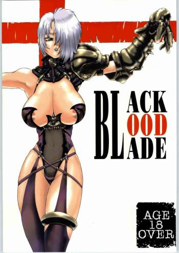 (C65) [Sekai no Hate (B-MARY)] BLACK BLOOD BLADE (Soul Calibur) cover