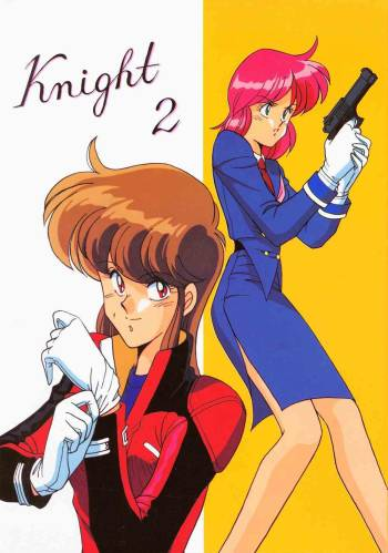 (C41) [Naniwa-ya (Various)] Knight 2 (Bubblegum Crisis) cover
