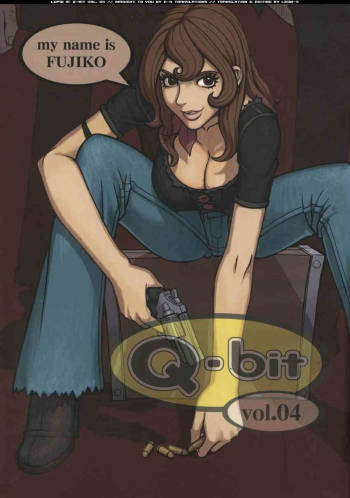 [Q-bit] My Name is Fujiko (English by E-Hentai Translations) {Lupin III} cover