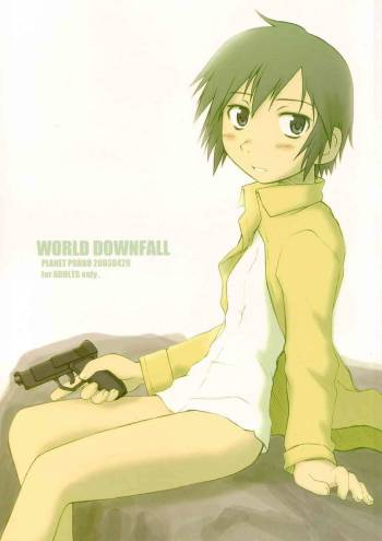 [PlanetPorno (Yamane)] World Downfall (Kino no Tabi) cover