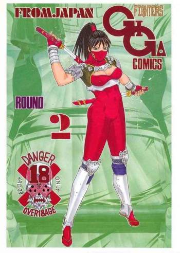 [From Japan] Fighters Giga Comics Round 2 cover