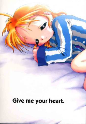 (C56) [Mc Nail Koubou (Various)] Give me your heart. (Kizuato) cover